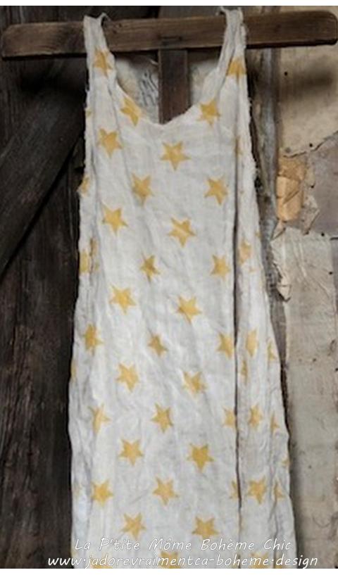 Layla Dress in LinenStardust