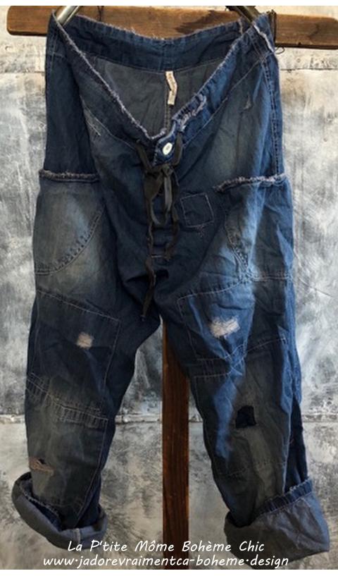 OKeefe Jeans in Indigo