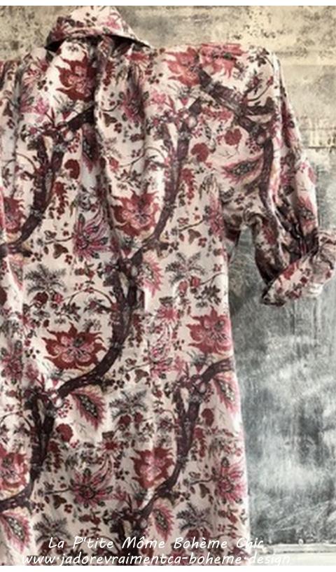 Hudson-Smock En Milly Robe/Chemise