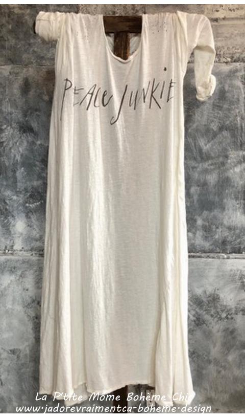 Dylan Tee Dress Peace Junkie en True