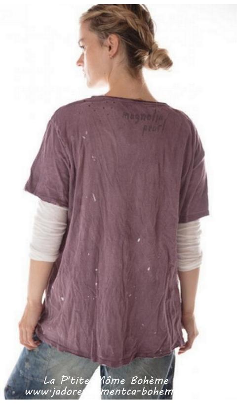 New Boyfriend Cut T In Purple rain
