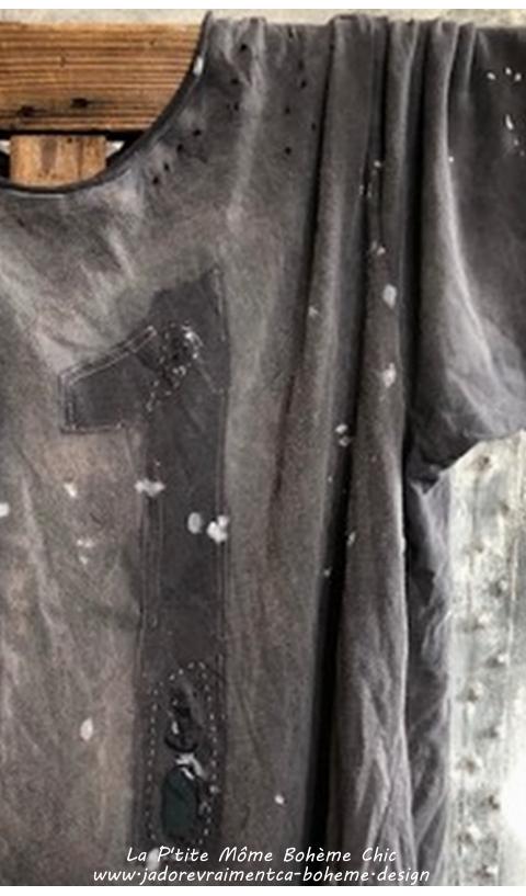 Snake Eye T-Shirt 11 En Ozzy Coupe Boyfriend