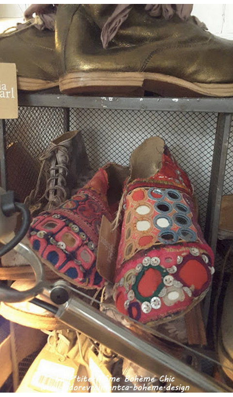 Cleo Caravan Chaussures Ethnique en Majmau