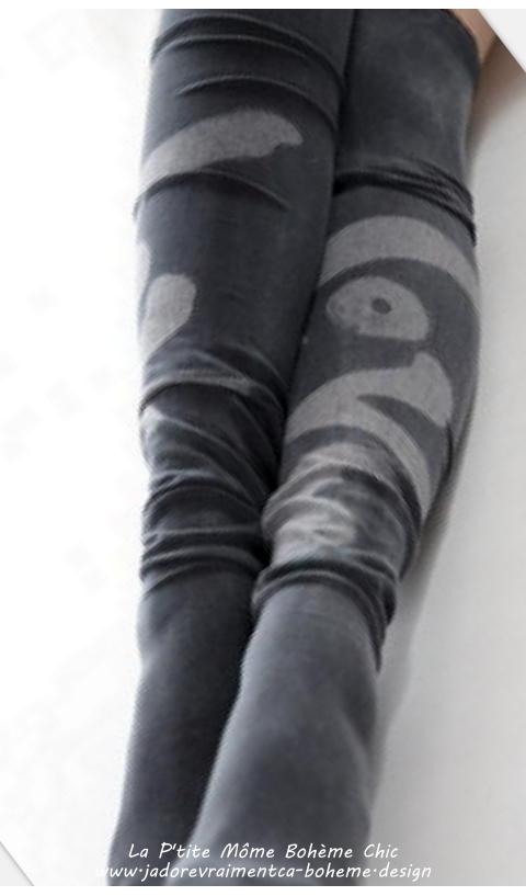 Karolina socks, Over knees Sixties Love In Ozzy