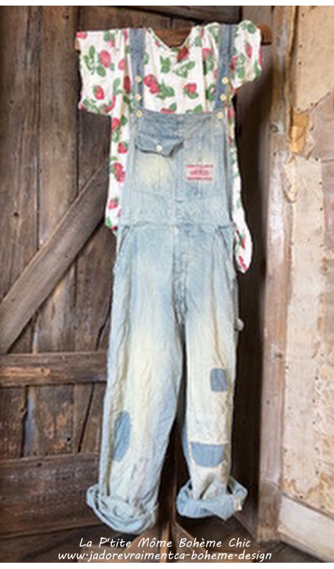 Supply Co.Sanforized Cotton Denim Overalls, Railroad,
