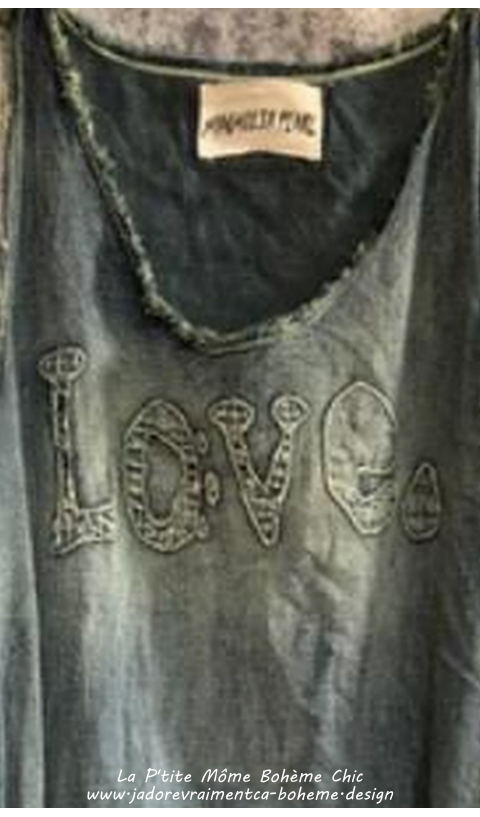 Layla Love Denim Dress In Washed Indigo Loooove this