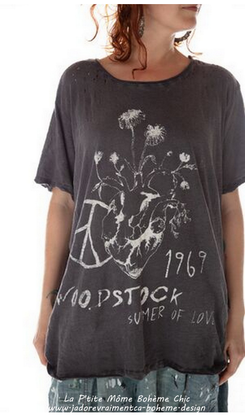 Summer Of Love Woodstock T-Shirt En Ozzy Boyfriend