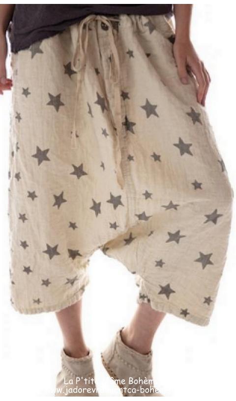 Frankie Pants In Rockstar, Linen