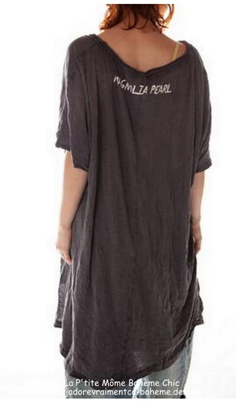 Beau Robe T-Shirt  Mi-Longue En Ozzy