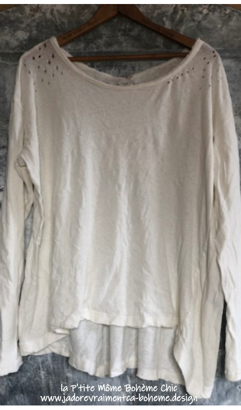 Zoe Oversized Long Sleeve Tee-Top In true