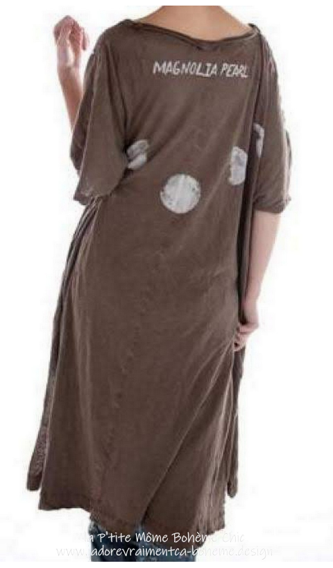 Moon Beau T-Dress in 4 Colors Umber,Noir,Faded Boro & Moonlight