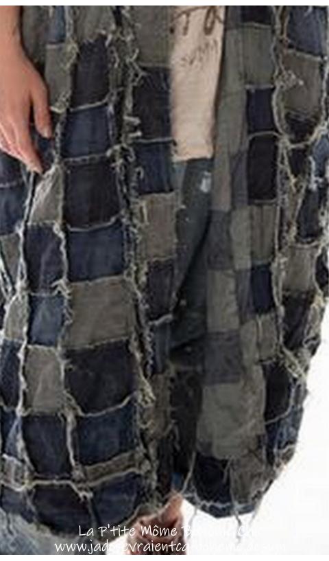 Dashi Kimono patchwork
