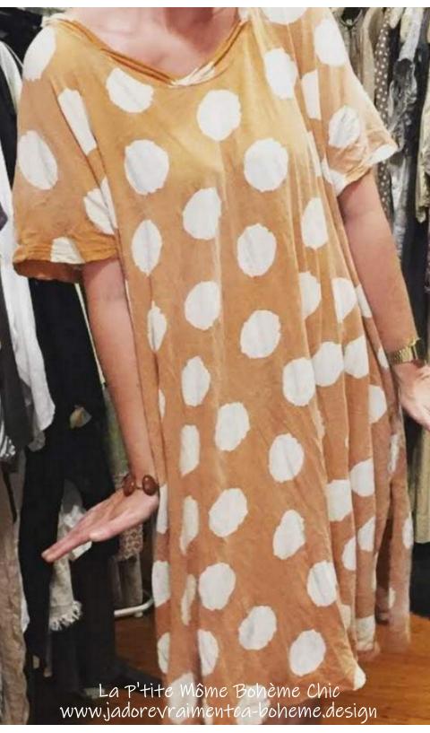 Beau T-Dress in Fawn