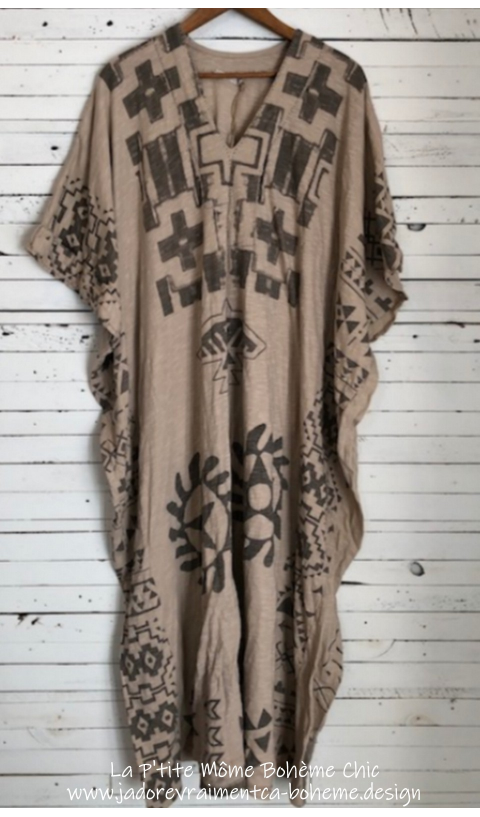 Veda Kaftan Robe Sitting-Bull en Molly