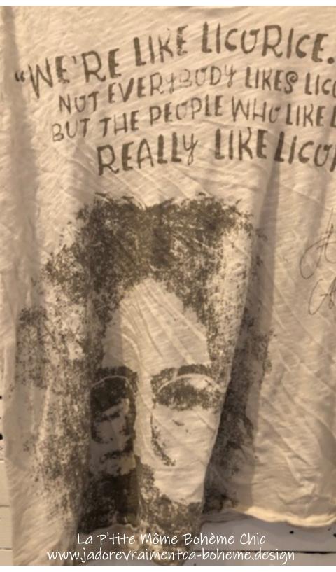 Licorne T-Shirt En Moonlight....Coupe Boy-friend On Adore ça