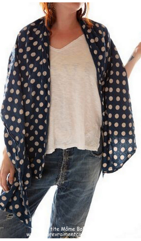 Twill Brushed Cotton Shawl In Poland