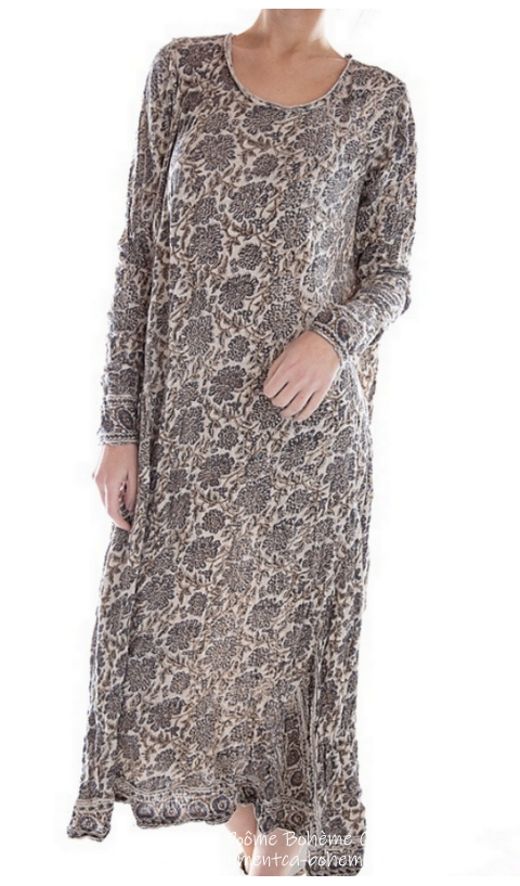 Bali Dylan T Dress In Koko Hand Block Print