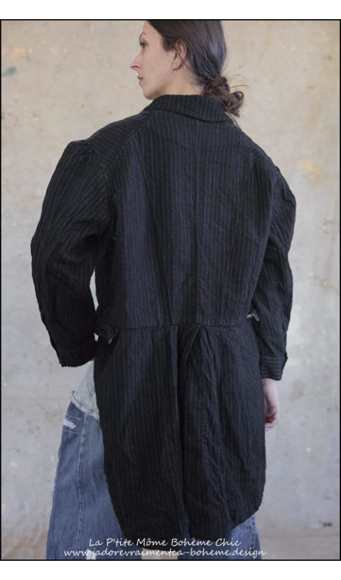 Sidra Tuxedo-Wool with Quilted Cotton Lining
