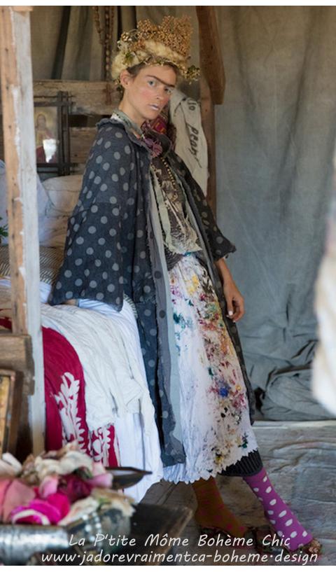 Ailsa-Manteau en Laine rayé très belle coupe