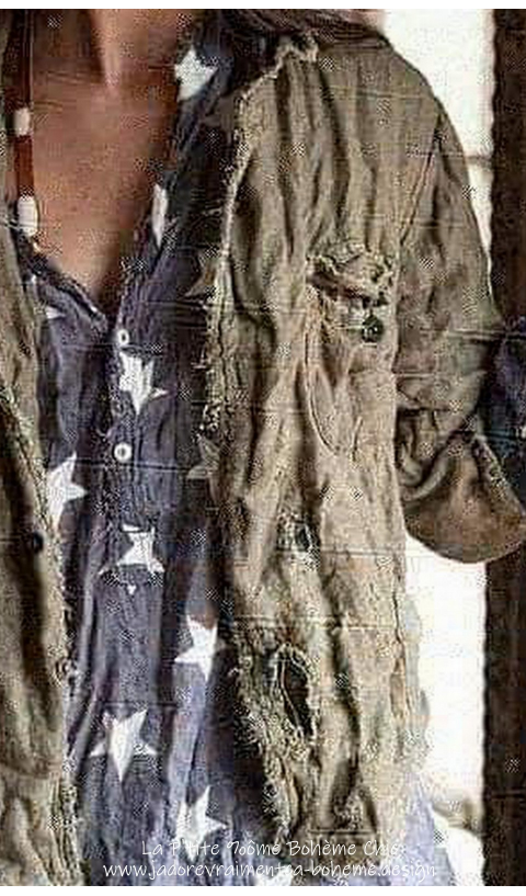 Buffalo Soldier Veste Militaire En Peace J'adore