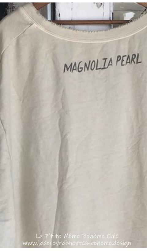 Francis Oversized Pullover Licorize En Coton En Moonlight....J'adore