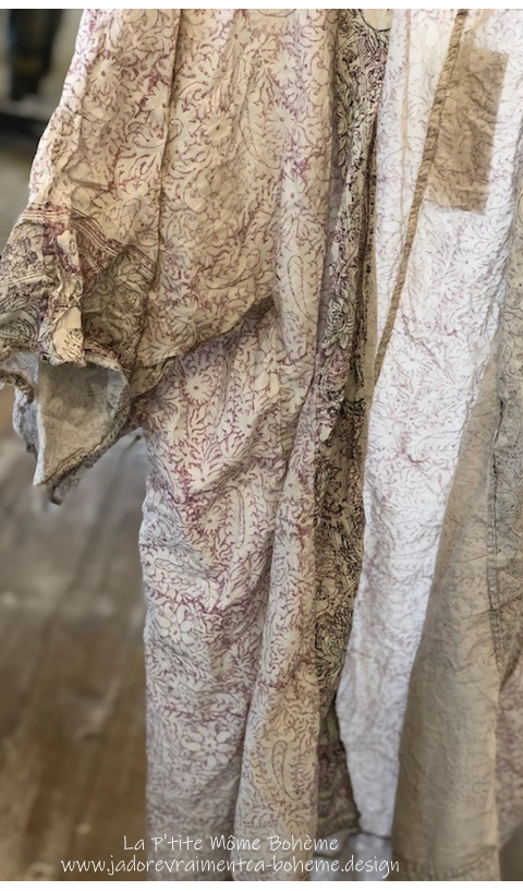 Khaelana kimono Hand Block Printeded So Beautiful Wear