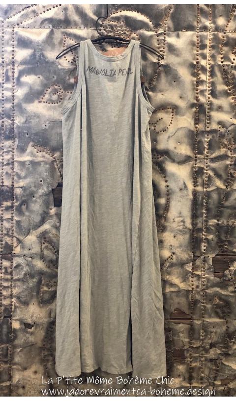 Ari-Rétro Tank-Dress In River Rétro Cut