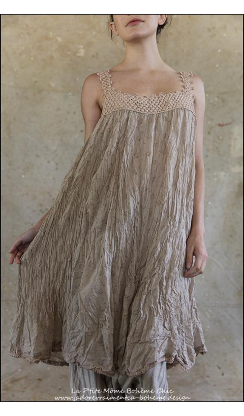 Robina-Robe à fines Bretelles