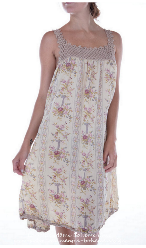 Cotton Robina Dress in floral print
