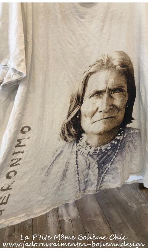 Geronimo Bandana T In Moonlight New Boyfriend Cut