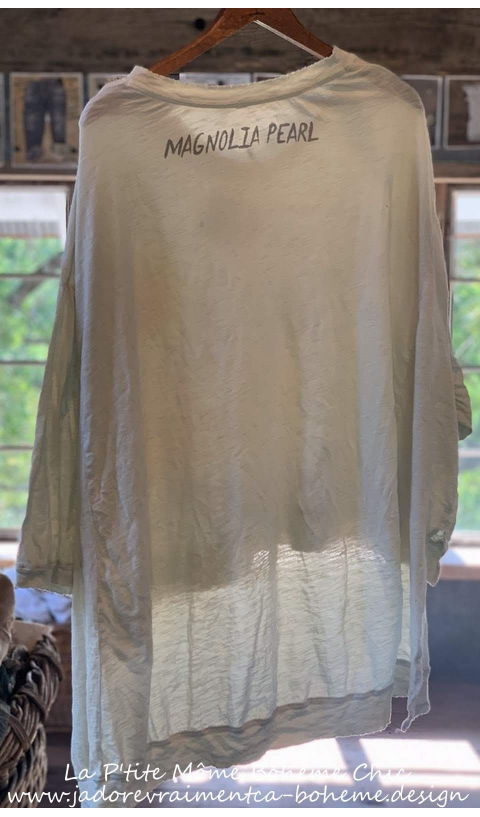 Hi Lo CW SURFBOARDS  Francis Oversized Pullover With Distressing And Fading