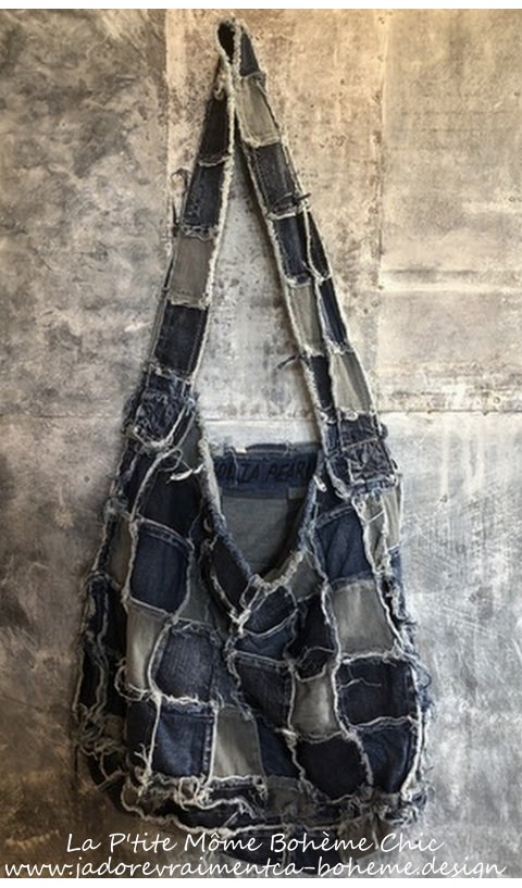 Eliot Denim Hand made Patchwork In Looooove With This One