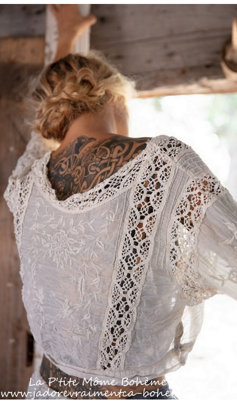 Devoney Top Embroidered & A Beautiful Lace