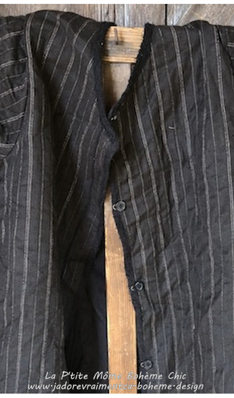Pinstriped Wool, Soren Coat, Cotton Twill Lining In Netherlands