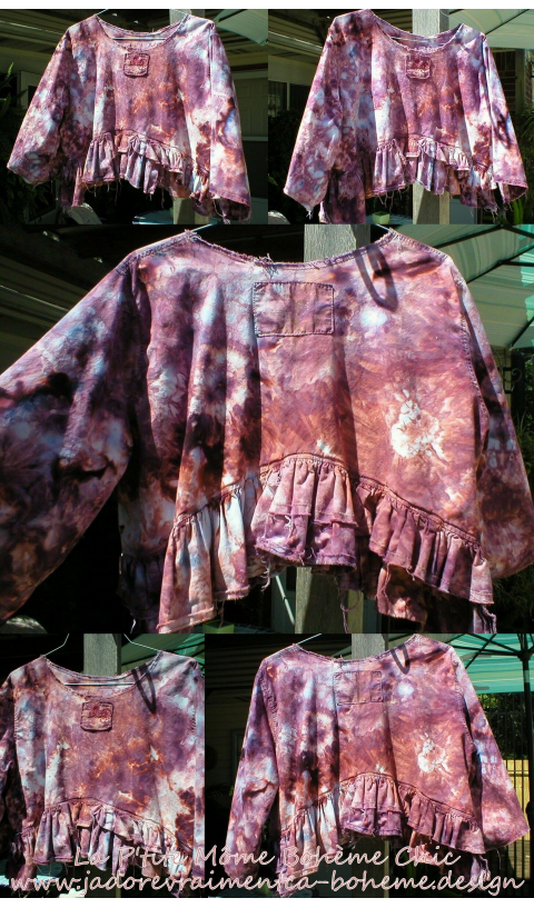Wren Specialty Top In Tie & Dye Hand Printed