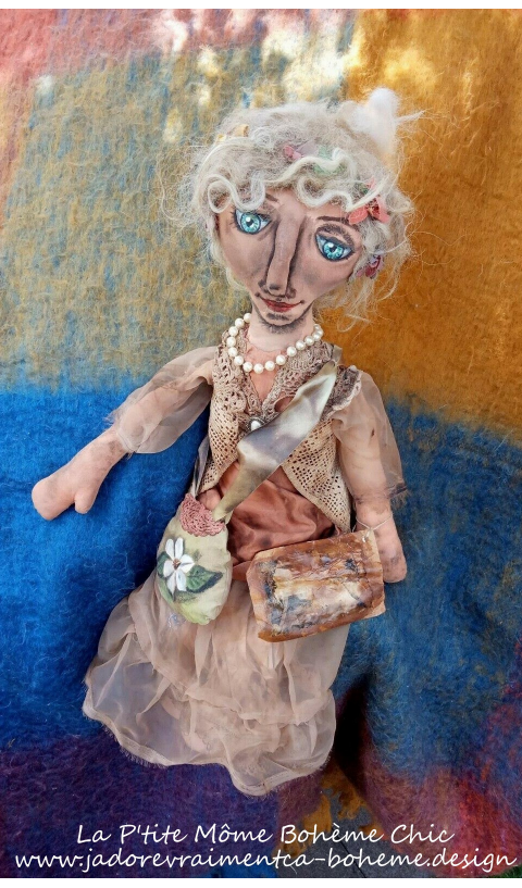 Magnolia's Doll Collector Piece of Art
