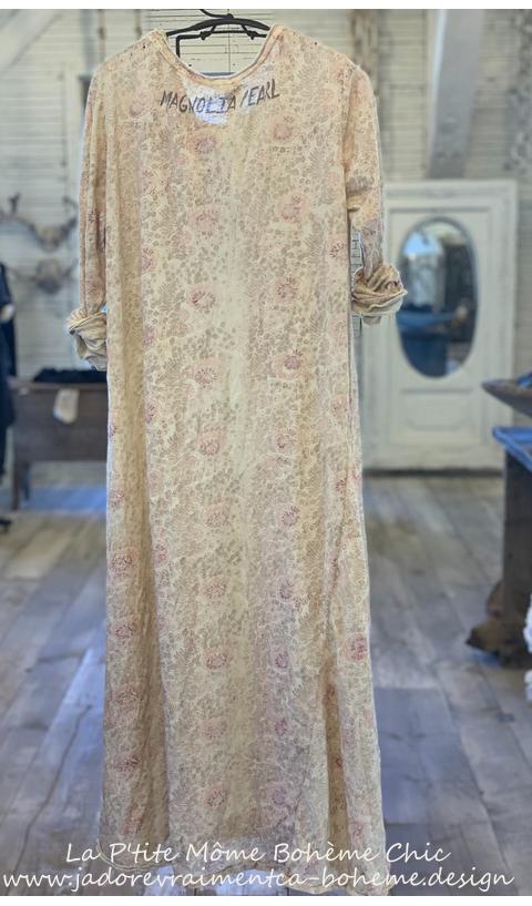 Bali Dylan T Dress Golden Poppy Hand Block Print