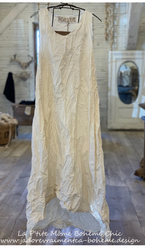 Layla Poplin Dress In Natural