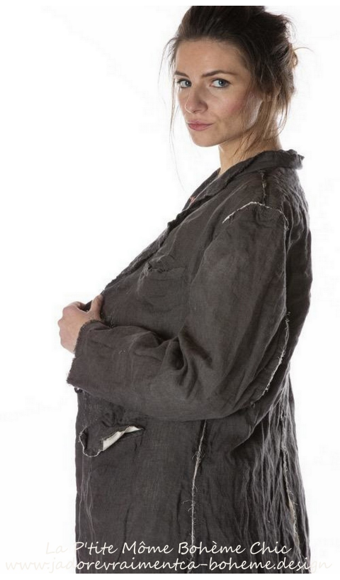 Lollie Coat n Midnight With Front Pockets