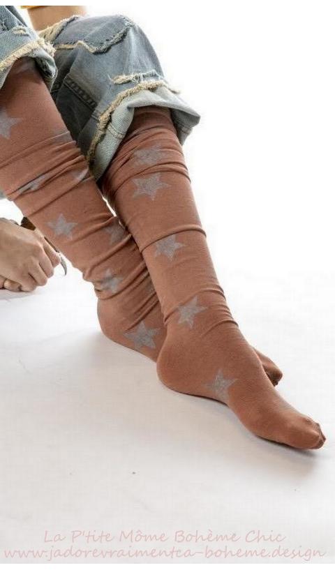 Karolina socks, Over-knees In Astrial