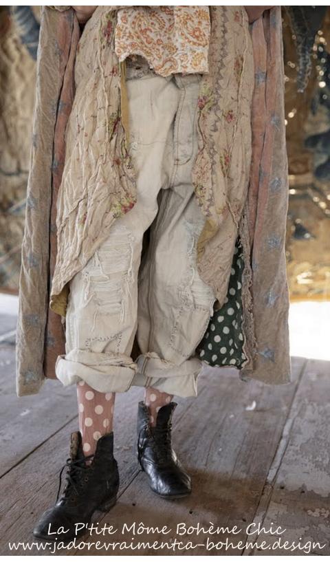 Miner Denim Jeans En Moonlight, Avec Fausses Usures Bien Maîtrisées
