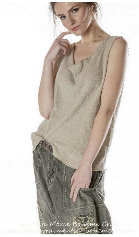 Solana Tank Sweater In Molly