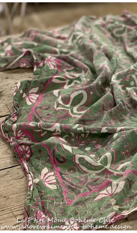Dosa A Beautiful Scarf hand Block Printed