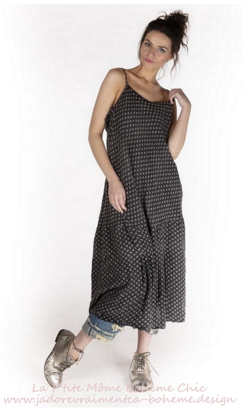 Anya Slip Dress In Grandmother