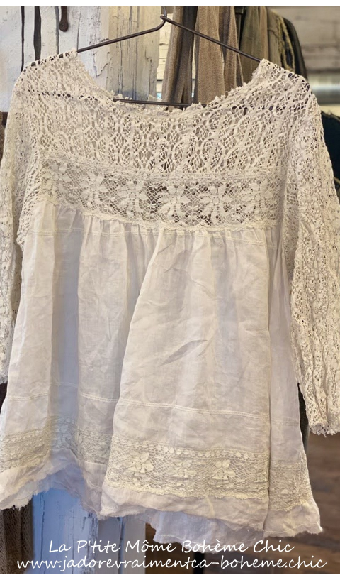 Ramie Nanette Top*With Lace