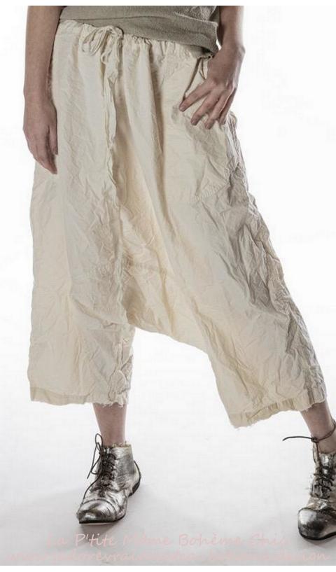 Garcon Poplin Trousers In Natural So Beautiful Wear
