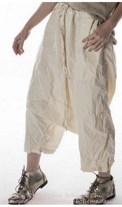 Garcon Poplin Trousers In Natural So Beautiful Wear
