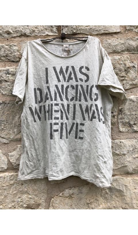Dancing When I Was Five T, New Boyfriend Cut in Moonlight