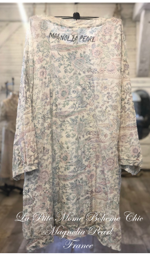 Francis Oversize Floral Print Pull-Over In Acanthus Sun