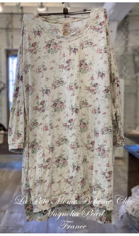 Francis Oversized Pullover Floral En Wine-Rose...J'adore
